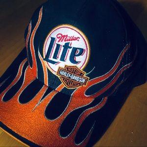 NASCAR Harley hat